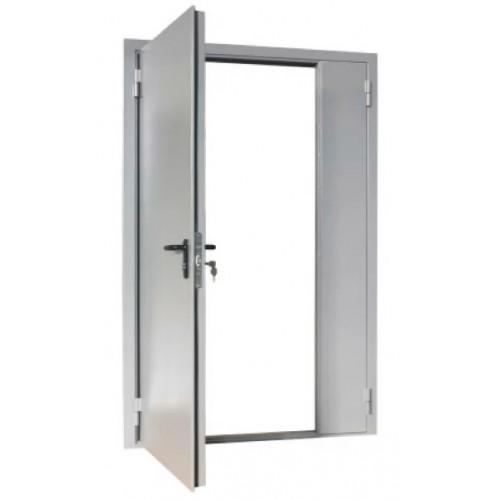 Дверь противопожарная ДПМ-02/30 (EI 30) двупольная, левая (рабочая створка 900 мм) 1250х2075