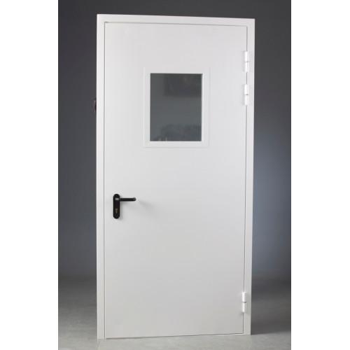 Дверь противопожарная ДПМ-01/30-О (EI 30) остекленная (под заказ) 850х2075 мм