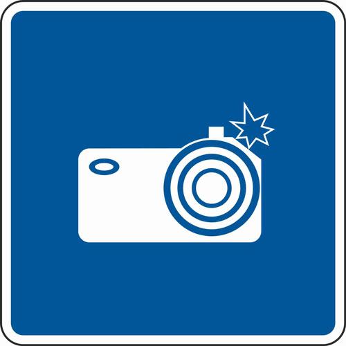 Новый дорожный знак «Фотовидеофиксация» 6.22 по постановлению № 2441 (вступило в силу 1 марта 2021 года)