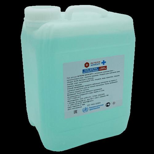 Гелевое антисептическое спиртовое средство АКТЕРМ Антисепт (5 литров) для дезинфекции кожи рук