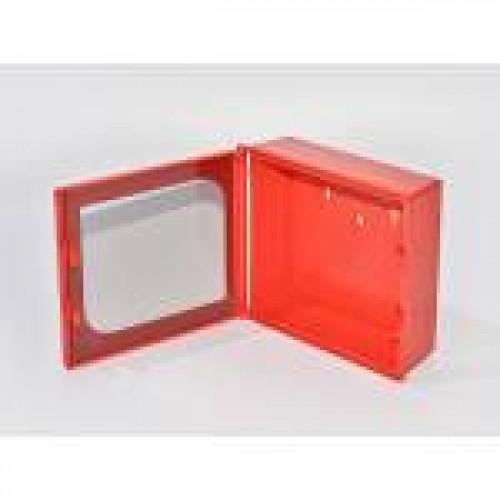 Ключница для 3 ключей Kibox 82301 с окошком из безопасного стекла