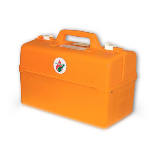Комплект медицинский для оказания первой помощи пострадавшим при пожаре (пластиковый саквояж)
