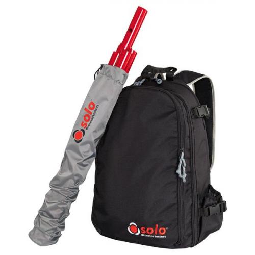 SOLO 611-001 Рюкзак для переноски и хранения тестовых устройст с чехлом SOLO 612 для штанг