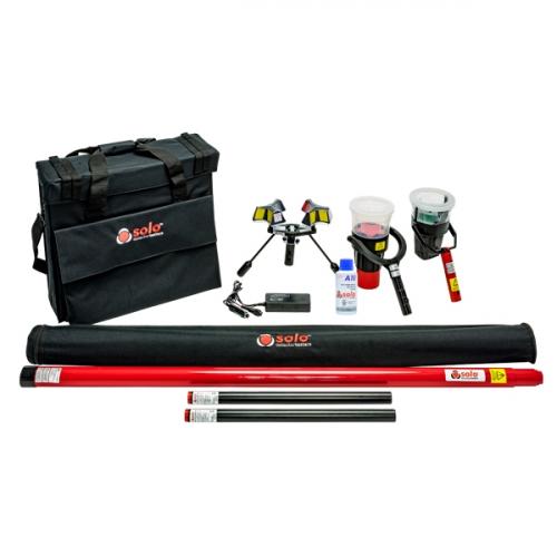 SOLO 822-001 Беспроводной комплект для тестирования и демонтажа детекторов дыма, тепла и СО  - 6 м.