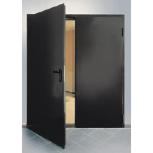 Дверь противопожарная ДПМ-02/60 (EI 60) двупольная, левая, равнопольная 1550х2075 мм