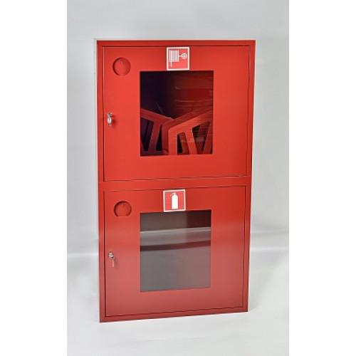 Шкаф пожарный  ШПК-320-12ВОБ (встраиваемый открытый белый)