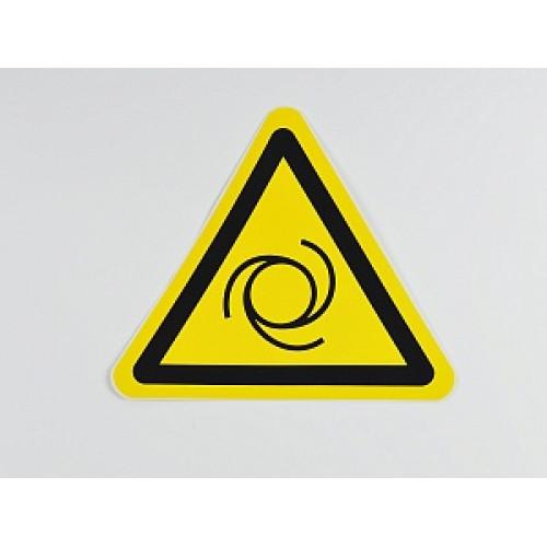 Знак 'Внимание. Автоматическое включение оборудования' (ГОСТ Р 12.4.026-2001) 200х200х200 мм
