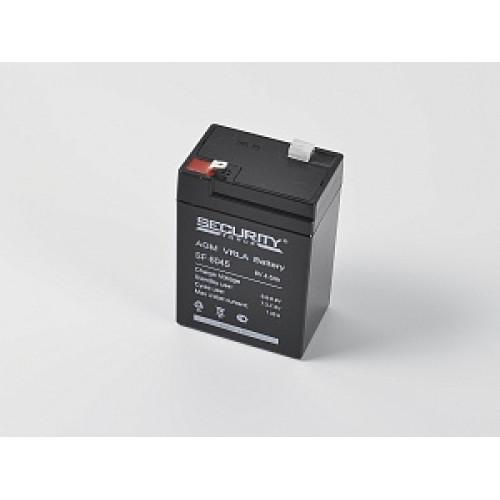 Аккумулятор запасной для фонаря ФОС-3 (SF 6045, 6В, 4,5 Ач)