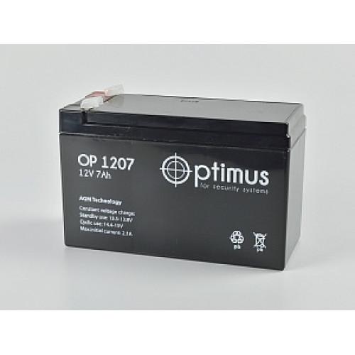 Аккумуляторная батарея 12В 7 Ач, 152х65х98 мм