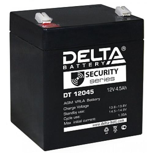 Аккумуляторная батарея Delta DT 12045 (12В 4,5Ач) 90х70х107 мм
