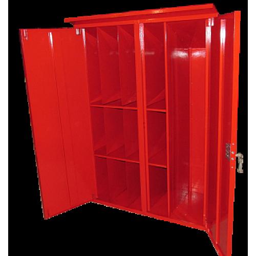 Шкаф для пожарного поста двустворчатый