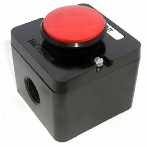 Пост кнопочный ПКЕ 212-1У3 (красный гриб)