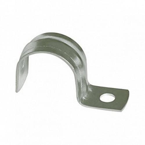 Скоба для металлорукава (однолапковая)