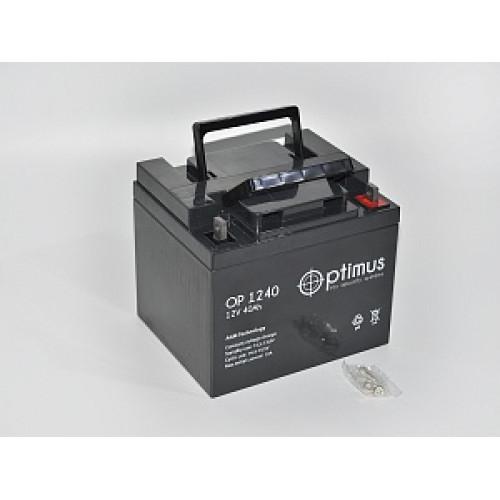 Аккумуляторная батарея   12В 40 Ач