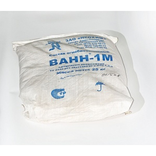 Антипирен ВАНН-1 для дерева и текстиля (25 кг)