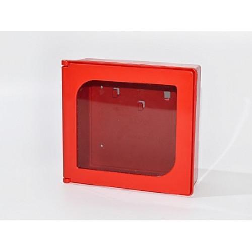Ключница для 3 ключей Kibox 82301 с окошком из серого пластика