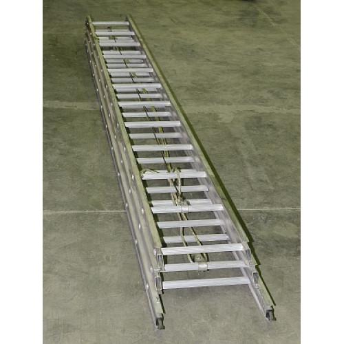 Раздвижная алюминиевая 3-х секционная лестница