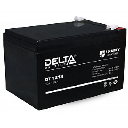 Аккумуляторная батарея Delta DT 1212 (12В 12Ач) 151х98х101 мм