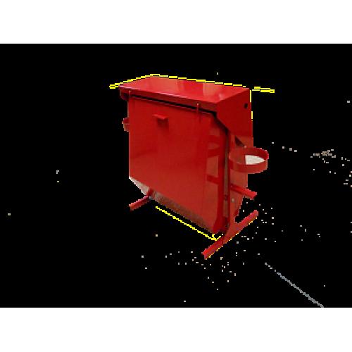 Стенд поворотный разборный с бункером для песка (с комплектующими)