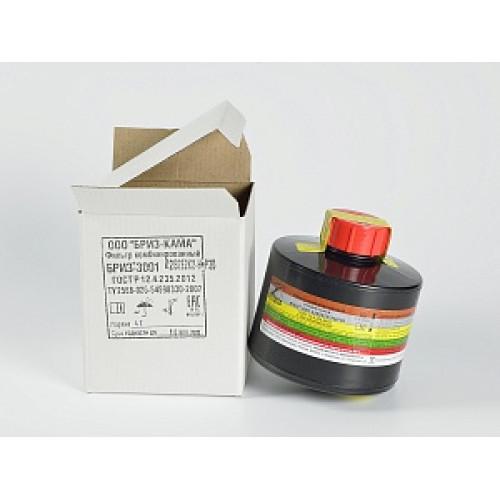 Фильтр специальный комбинированный Бриз-3002 В1Е1К2SX(CO)NOHgP3D