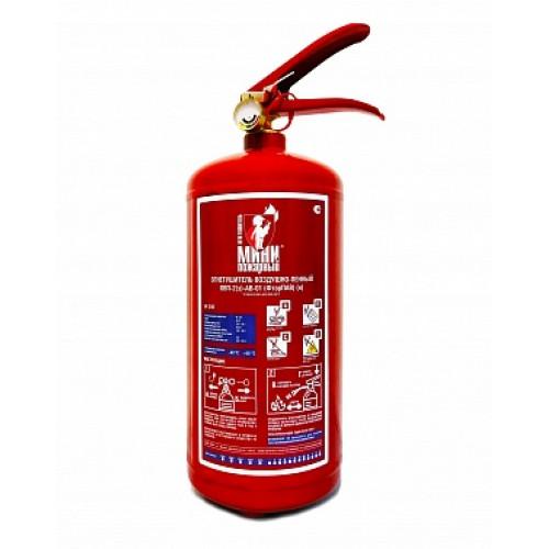 Огнетушитель воздушно-пенный ОВП-2 Минипожарный ФторПАВ (морозостойкий)