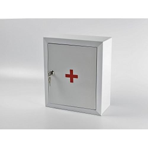 Аптечка первой помощи Офисная (металлический шкаф)