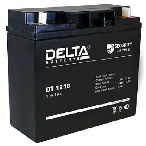 Аккумуляторная батарея Delta DT 1218 (12В 18Ач) 181х76х168 мм