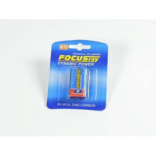 Элемент питания Focusray 6F22 (9В)