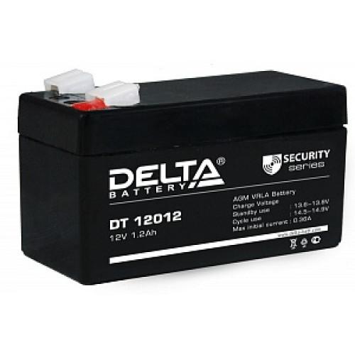 Аккумуляторная батарея Delta DT 12012 (12В 1,2Ач) 97х44х59 мм